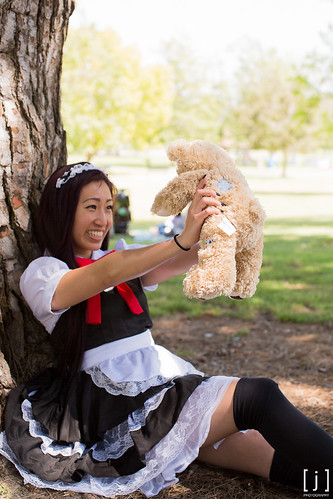 Behind the Scenes: Anime Expo Maid Cafe 2013 Portrait Session - 15