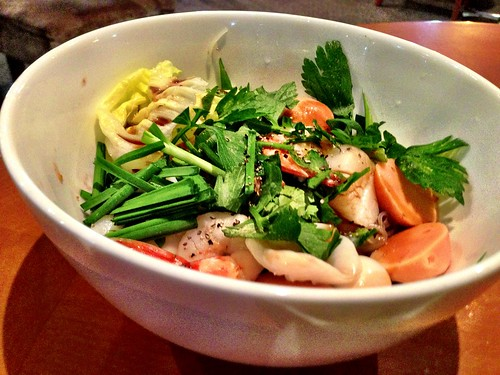 Dry Seafood Noodle