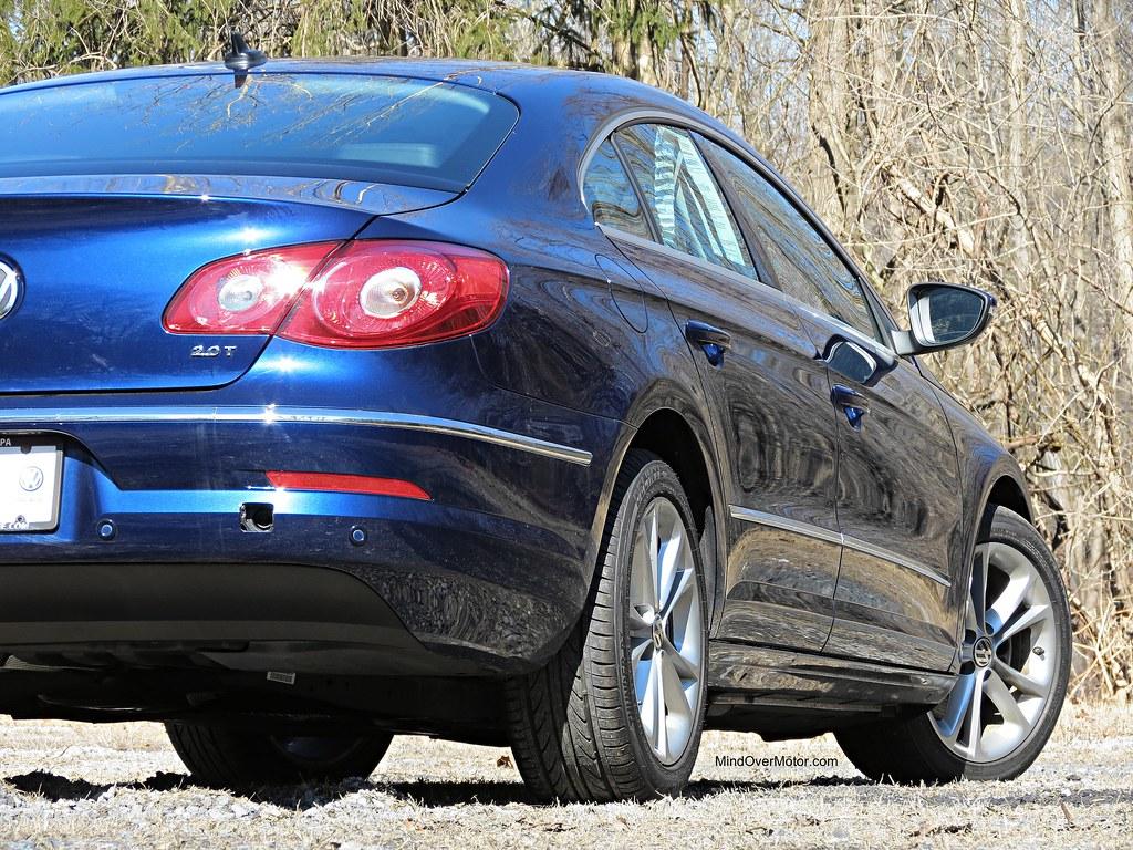 Volkswagen CC 2.0T rear