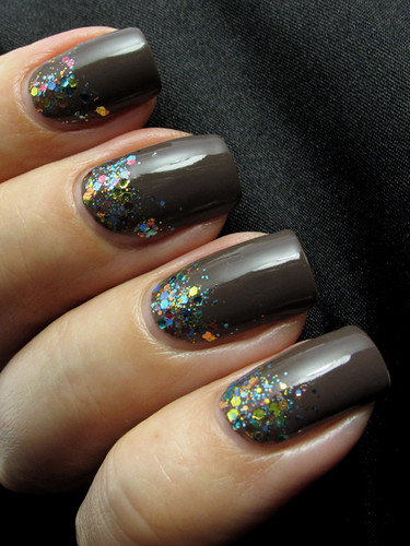 O.P.I. You Don't Know Jacques / KBShimmer Pastel Me More