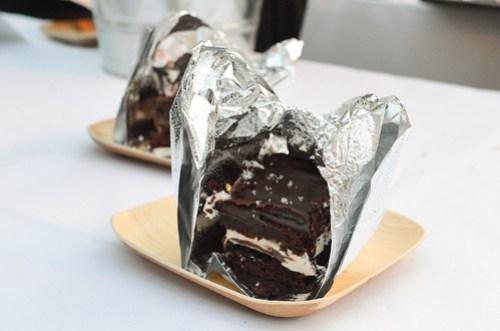 Salted Chocolate Caramel 'Ding Dong' Cake - Lemonade, LA