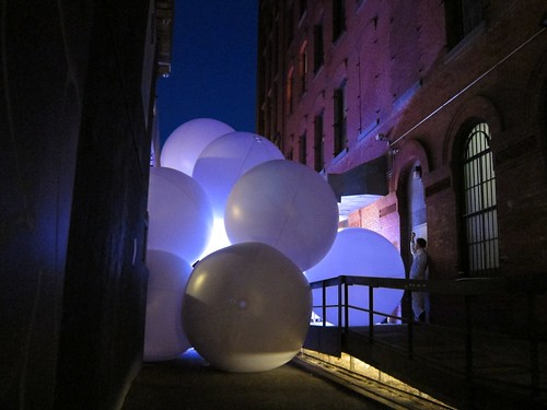 New Museum Ideas City Festival 2013: Mulberry Street NightFest, Snarkitecture by Scoboco