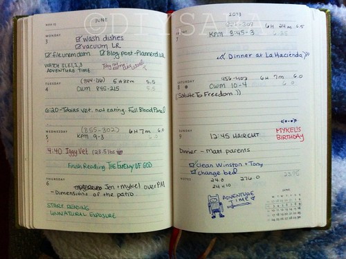 My Plannerd Week 23