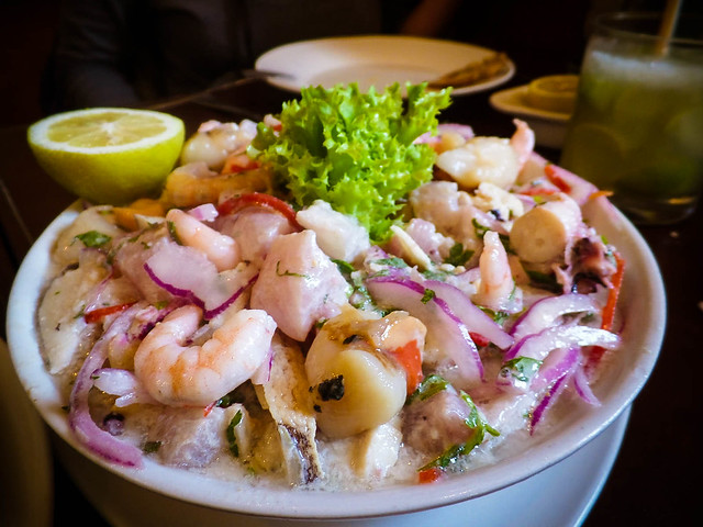Restaurant El Ancla de Providencia, Mariscos y Pescados en Santiago