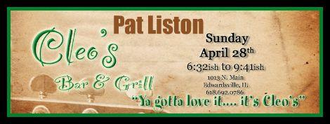 Pat Liston 4-28-13