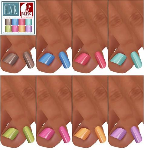 Flair - Nails Set 42