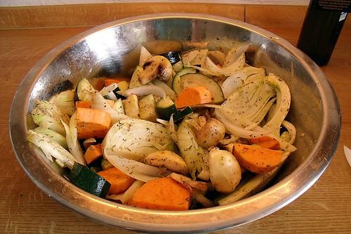 Gemüse aus dem Ofen 2