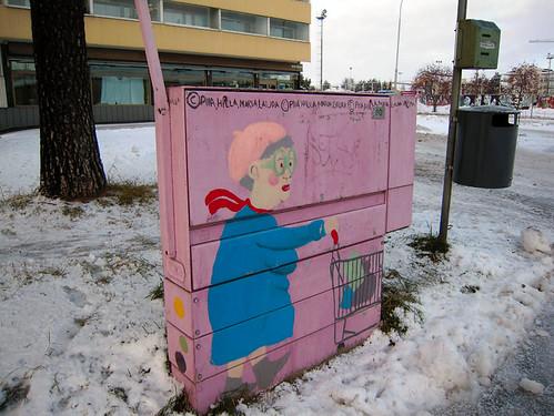 Trolley Dolly, Rovaniemi, Lapland