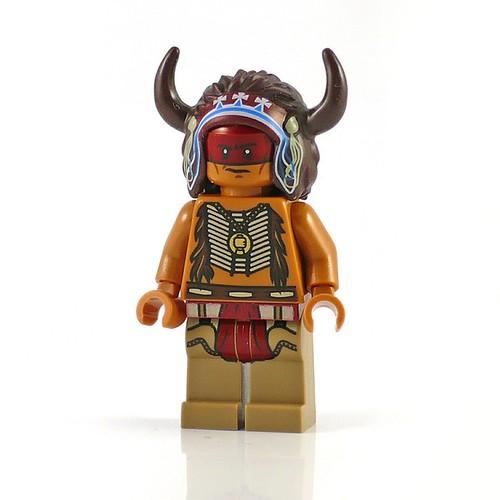 The Lone Ranger 79107 Comanche Camp figs09