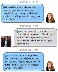 Twitter Conversation Between Krista Tippett and Scott Paeth