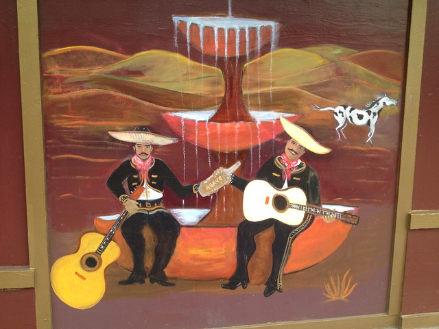Velvet Cantina mural