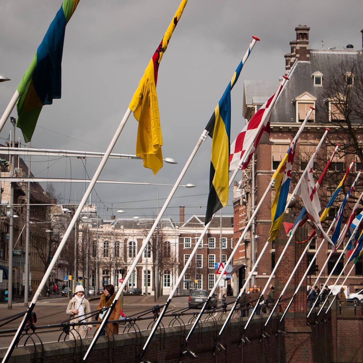 Banderas en La Haya