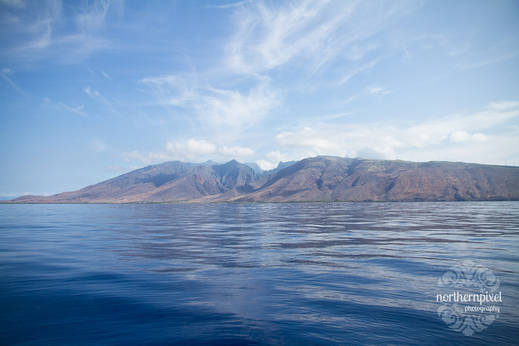 West Maui from the Water Pacific Whale Foundation