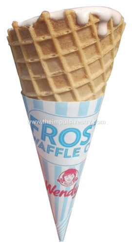 Wendy's Frosty Waffle Cone