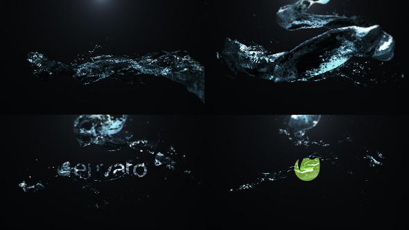 Organic Liquid Splash Logo - 51