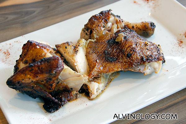 Charly T's Original Recipe Rotisserie Chicken (Quarter chicken with 2 additions at $14.50+, half chicken with 2 additions at $24+, whole chicken with 4 additions at $44+)
