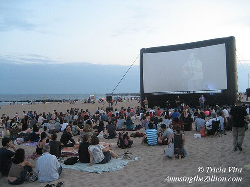 Coney Island Flicks on the Beach