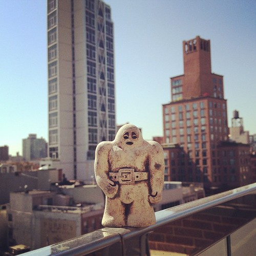 Beautiful day to be a golem in NYC.