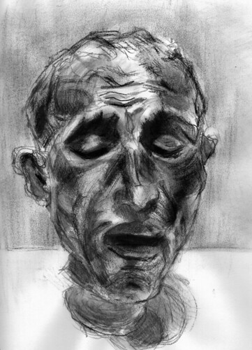 study of a Rodin by husdant
