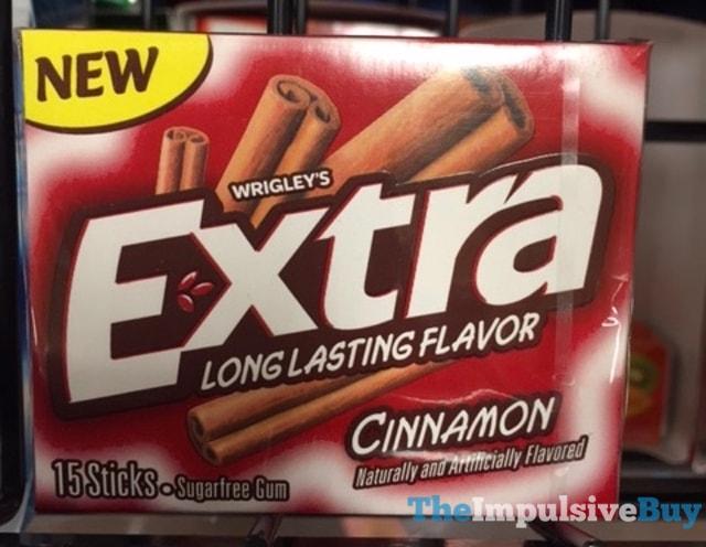 Wrigley's Extra Cinnamon Gum (2016)