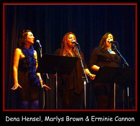 Dena Hensel, Marlys Brown & Erminie Cannon