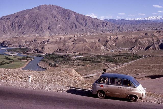 Kabul River, Afghanistan, 1969