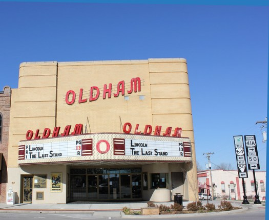 Oldham Theatre in Winchester, TN