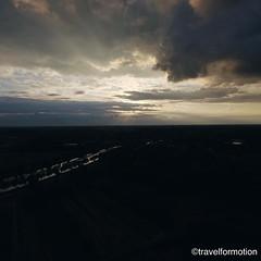 #sunset through the #clouds 19/9 #gent #ghent #visitgent #ghentcity #aerialphotography #dark #sky #vsco #vscocam #guardiantravelsnaps #wanderlust #travel #travelgram #belgium #igbelgium