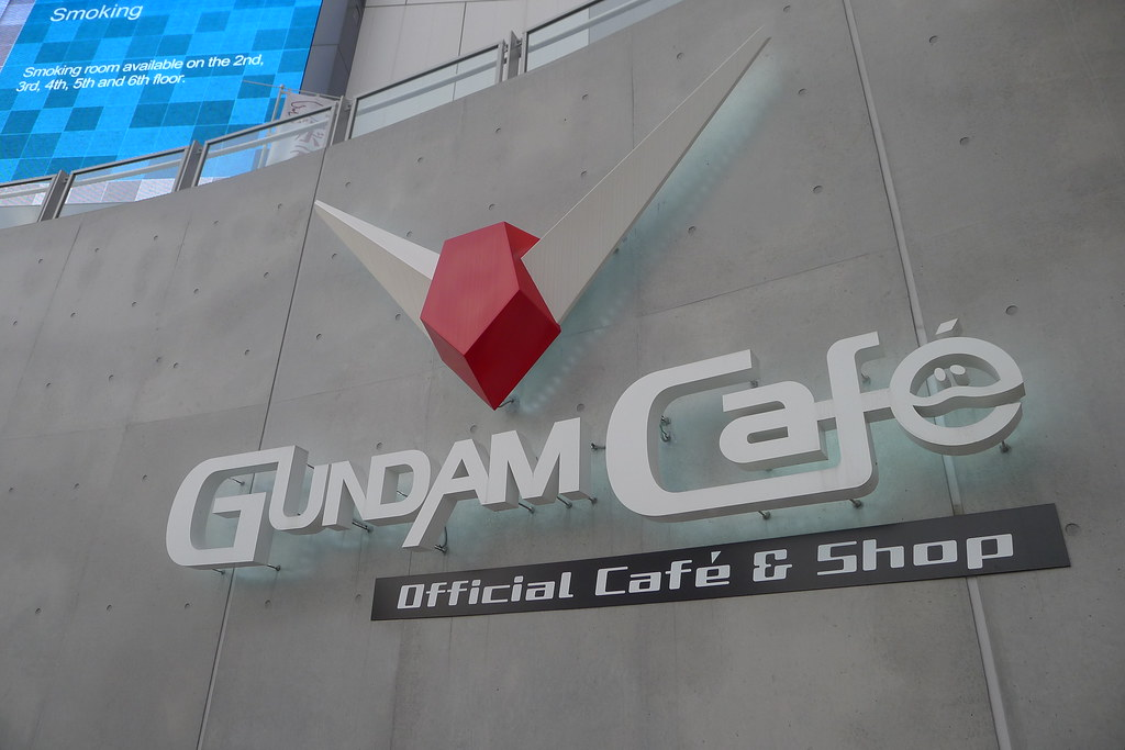 magnetic-rose.net Odaiba Gundam Cafe Palette Town and Diver City Tokyo