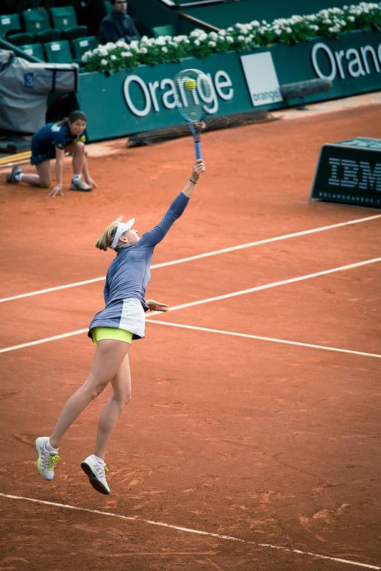 Service Maria Sharapova