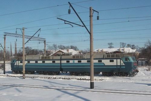 Ukrainian Railways class ЧС7 electric locomotive
