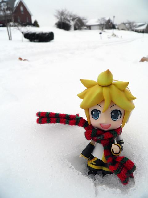 Len on the road