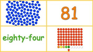Learning Numbers 80-90 Free Baby Math Video