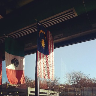 Malaysian flag at UVU