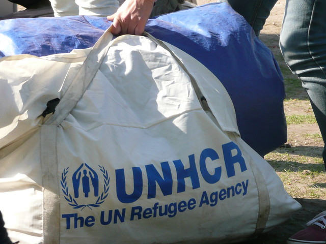 The UNHCR at the Liberation Day Festival