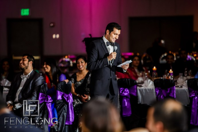 Indian wedding reception speeches