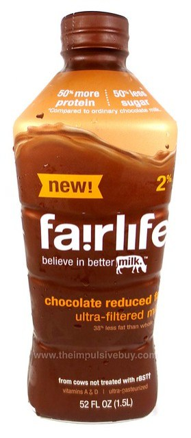 Fairlife Chocolate Reduced Fat Milk