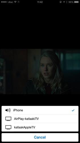 สามารถ Streaming ไปยัง Apple TV ได้ หรือใครใช้ Android ก็ Streaming ไป Chromecast ได้