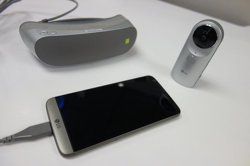 鄭蛋蛋的3C評測站:手機評測 (iOS/android/其他) / LG G5 SPEED 飆速3CA 週邊朋友360 VR/360 CAM開箱