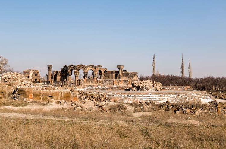 Image result for Zvartnots Ruins sunriseodyssey.com
