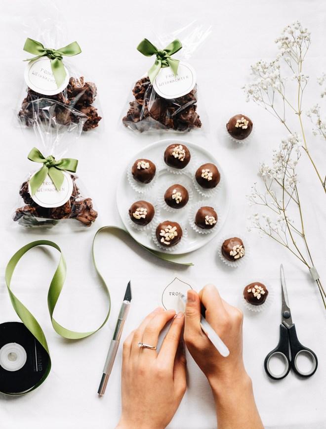 DIY Weihnachtsgeschenke: Pralinen