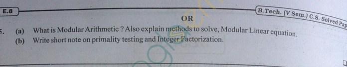 RTU: Question Papers 2013 - 5 Semester - CS - 5E3256