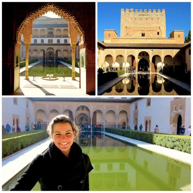 Patio de los Arrayanes Alhambra de Granada