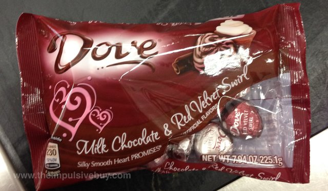 Dove Milk Chocolate & Red Velvet Swirl