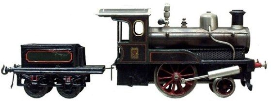 Bing Locomotiva a spirito 1908