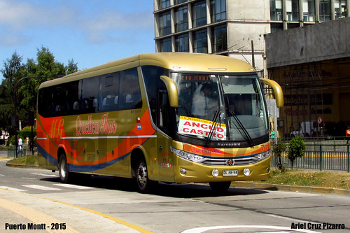 Queilen Bus - Puerto Montt (Chile) - Marcopolo Viaggio 1050 G7 / Mercedes Benz (DLRB98)