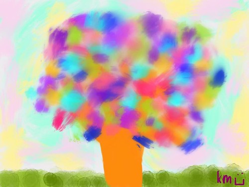 Neurodiversity Tree, inspired by my new blog layout for ADHD/LD Awareness Month