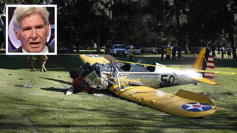 "Harrison Ford ""Beautifully Executed"" Crash-Landing"