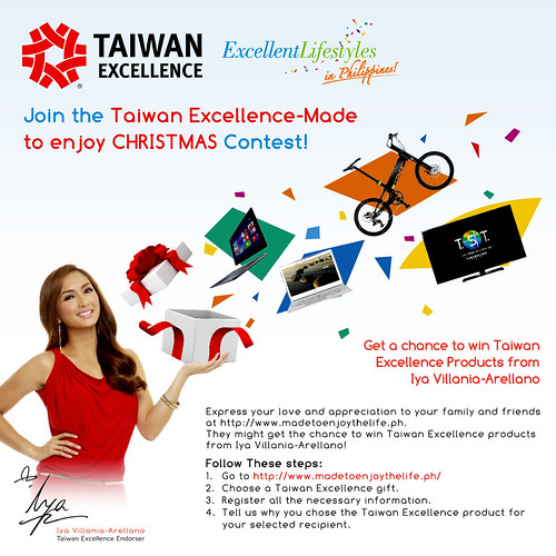 taiwan excellence made to enjoy christmas contest