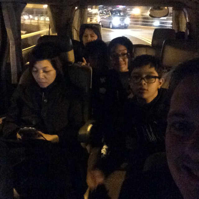 Ubering in Hong Kong